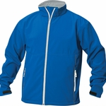 Clique Men's Softshell Jacket: 98% Polyester, 2% Spandex Full Zip Long Sleeve (MQO00008)