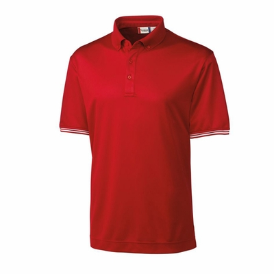 Clique Men's Polo Shirt: 100% Polyester Mesh  Short Sleeve (MQK00037)
