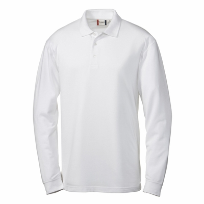 Clique Men's Polo Shirt: 60% Cotton, 40% Polyester  Long Sleeve (MQK00012)