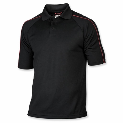 Clique Men's Polo Shirt: 100% Polyester  Short Sleeve (MQK00006)
