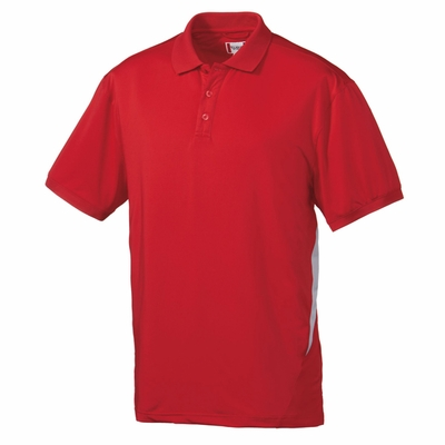 Clique Men's Polo Shirt: 95% Polyester, 5% Spandex  Short Sleeve (MQK00004)