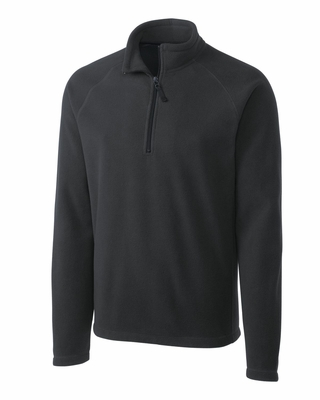 Clique Men's Sweatshirt: 100% Polyester Microfleece Half Zip Long Sleeve (MQO00027)