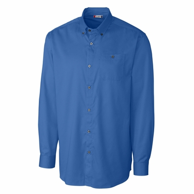 Clique Men's Twill Shirt: 55% cotton, 45% polyester  Long Sleeve (MQW00003)
