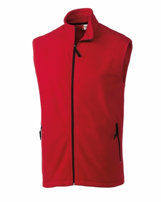 Clique Men's Vest: 100% Polyester Microfleece Full Zip  (MQO00026)