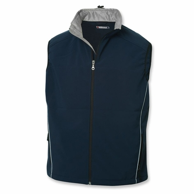 Clique Men's Softshell Vest: 98% Polyester, 2% Spandex Full Zip  (MQO00009)