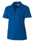 Clique Plus Size Women's Polo Shirt: 60% Cotton, 40% Polyester  Short Sleeve (WQK00014)