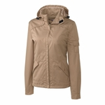Clique Women's Jacket: 100% Polyester Broken Twill Full Zip Long Sleeve (LQO00016)