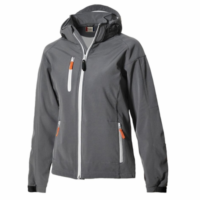 Clique Women's Jacket: 95% Polyester, 5% Spandex Full Zip Long Sleeve (LQO00014)