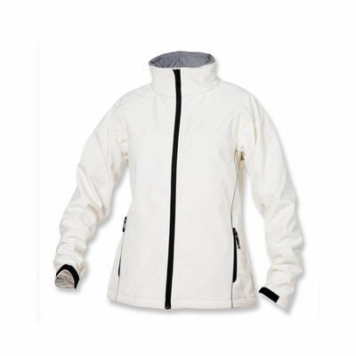 Clique Women's Softshell Jacket: 98% Polyester, 2% Spandex Full Zip Long Sleeve (LQO00004)