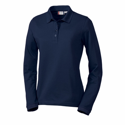 Clique Women's Polo Shirt: 60% Cotton, 40% Polyester  Long Sleeve (LQK00009)