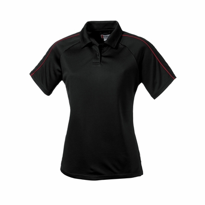 Clique Women's Polo Shirt: 100% Polyester  Short Sleeve (LQK00002)