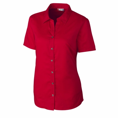 Clique Women's Twill Shirt: 55% cotton, 45% polyester  Short Sleeve (LQW00008)