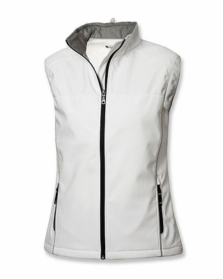 Clique Women's Softshell Vest: 98% Polyester, 2% Spandex Full Zip  (LQO00006)
