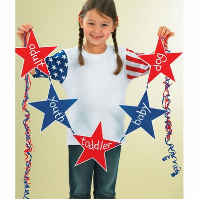 Code V Toddler T-Shirt: 100% Cotton Stars & Stripes (3376)