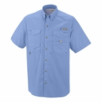 Columbia Sportswear Men's Fishing Shirt: 100% Cotton Short Sleeve Bonehead (FM7130)