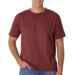4.8 oz. Ringspun Garment-Dyed T-Shirt: (C4017)