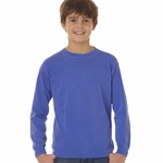 Comfort Colors Youth T-Shirt: 100% Cotton Long-Sleeve (3483)