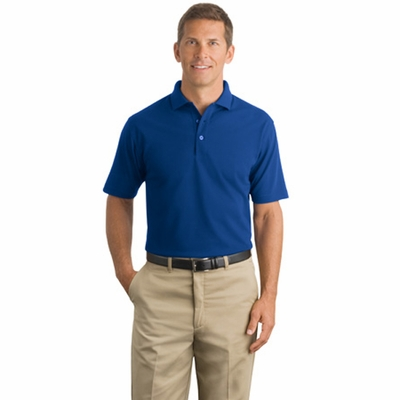 CornerStone Men's Polo Shirt: Industrial Pocketless Pique (CS402)