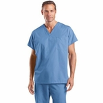 CornerStone Men's Scrub Top: Reversible V-Neck (CS501)
