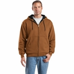 CornerStone Men's Sweatshirt: Heavyweight Full-Zip Hooded Thermal Lining (CS620)