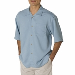 Cubavera Men's Camp Shirt: Bedford Cord (CM111)