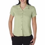 Cubavera Women's Camp Shirt: Bedford Cord (CW407)