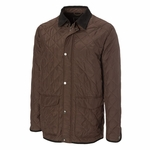Cutter & Buck Big & Tall Men's Car Coat: 100% Polyester Full Zip Long Sleeve (BCO00896)