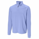 Cutter & Buck Big & Tall Men's Half Zip Fleece: 89% Polyester, 11% Spandex Half Zip Long Sleeve (BCK00637)