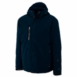 Cutter & Buck Big & Tall Men's Jacket: 100% Polyester Full Zip Long Sleeve (BCO00874)