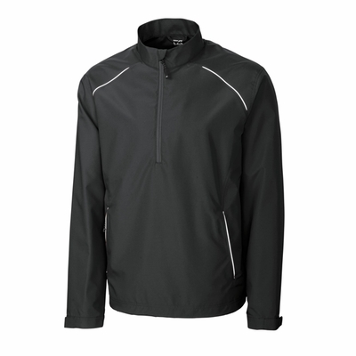 Cutter & Buck Big & Tall Men's Jacket: Reflective Beacon Half-Zip (BCO00922)