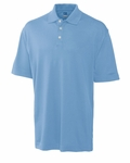 Cutter & Buck Big & Tall Men's Polo Shirt: Cotton Blend DryTec Elliott Bay (BCK00421)