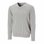 Cutter & Buck Big & Tall Men's Sweater: 100% Cotton Broadview V-Neck (BCS01842)