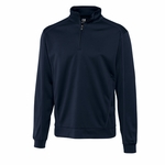 Cutter & Buck Big & Tall Men's Sweater: 100% Polyester Half Zip Long Sleeve (BCK08861)
