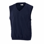 Cutter & Buck Big & Tall Men's Wind Vest: 100% Polyester Astute (BCO00842)