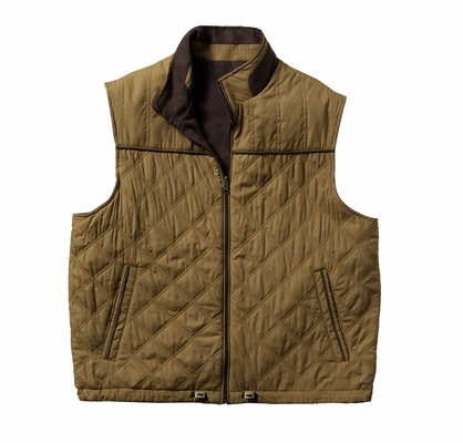 Cutter & Buck Big & Tall Men's Vest: Preston Reversible Insulated (BCO09793)