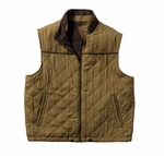 Cutter & Buck Big & Tall Men's Vest: Micro Suede, Polyester Full Zip  (BCO09793)