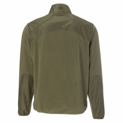 Cutter & Buck Men's Jacket: 100% Polyester Full Zip Long Sleeve (MCK00670)