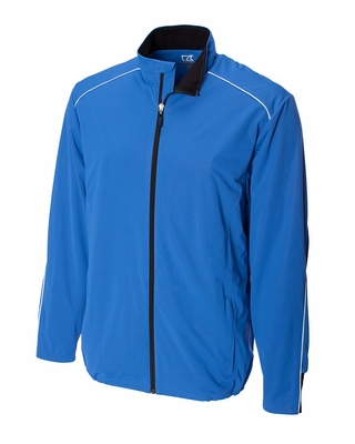 Cutter & Buck Men's Jacket: Yukon Wind Full-Zip Fleece (MCO00886)