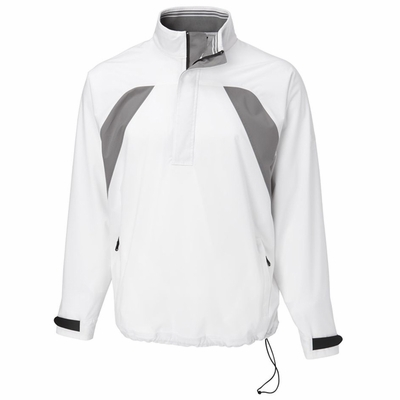 Cutter & Buck Men's Jacket: WeatherTec Vital Half-Zip (MCO00892)
