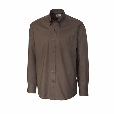 Cutter & Buck Men's Nailshead Shirt: Epic Easy Care Long Sleeve (MCW01711)