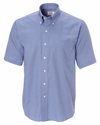 Cutter & Buck Men's Nailshead Shirt: Epic Easy Care Short Sleeve (MCW01797)