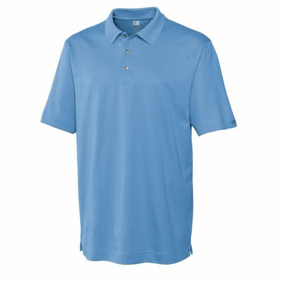 Cutter & Buck Men's Polo Shirt: Pima Cotton Blend Luxe Faceted (MCK00325)