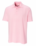 Cutter & Buck Men's Polo Shirt: 63% Cotton, 37% Polyester  Short Sleeve (MCK00661)