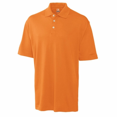 Cutter & Buck Men's Polo Shirt: Cotton Blend DryTec Elliott Bay (MCK00421)