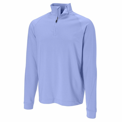 Cutter & Buck Men's Fleece Sweatshirt: Montlake Stretch Half-Zip (MCK00637)