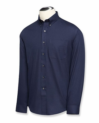 Cutter & Buck Big & Tall Men's Twill Shirt: Epic Easy Care Long Sleeve (BCW09180)
