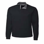 Cutter & Buck Mens Big & Tall Fulltime Pima Snap Placket Overknit BCK00851