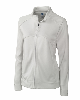 Cutter & Buck Plus Size Women's Jacket: DryTec Edge Full-Zip (WCK08514)