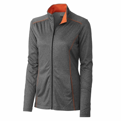 Cutter & Buck Women's Jacket: DryTec Green Lake Full-Zip (LCK02509)