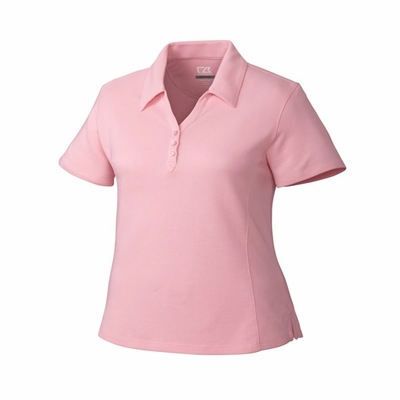 Cutter & Buck Women's Polo Shirt: Cotton Blend Championship Short Sleeve (LCK08541)
